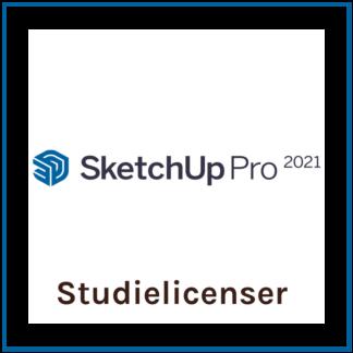 SketchUp Studielicens